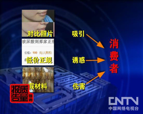 CCTV每周质量报告 揭微整形乱象