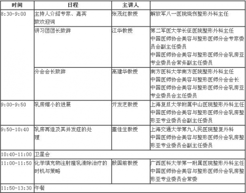 乳房整形美容第四站(江苏省常州市)巡讲通知