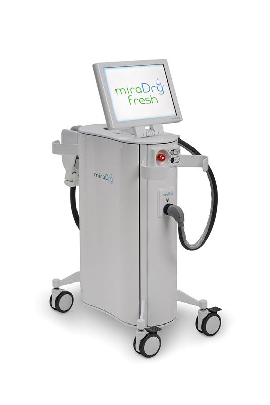 除腋臭新科技!美国miraDry无创止汗微波在台湾面市